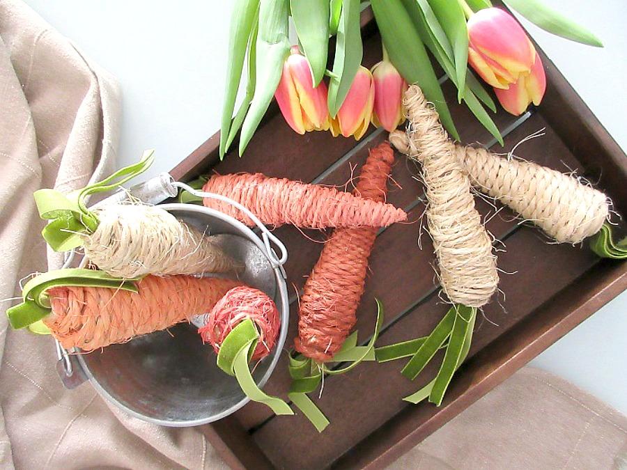 Τι διάβασα και μου άρεσε, diy easter carrots