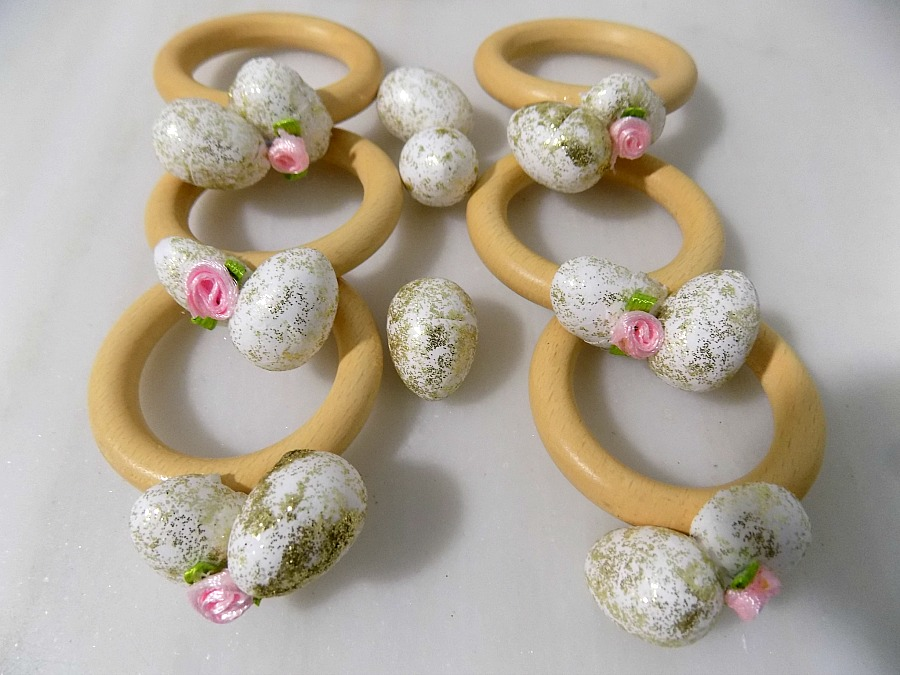 Easter napkin rings