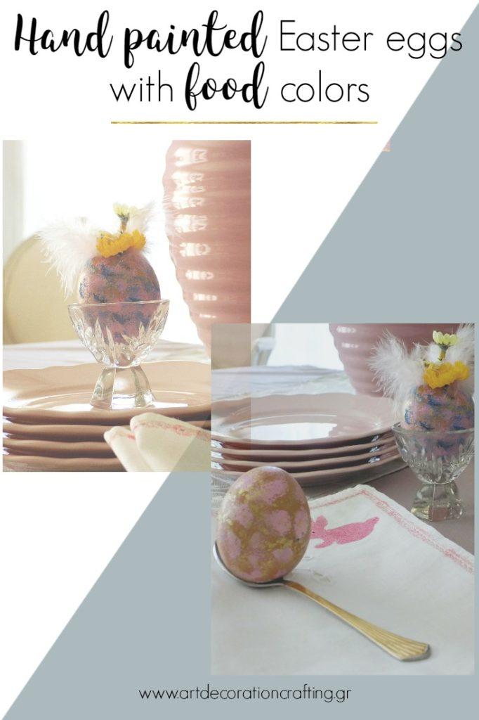 Πως μια παλιά αβγοθήκη αλλάζει εμφάνιση για να μπει στο Πασχαλινό μας τραπέζι, βάφω αυγά με χρώματα ζαχαροπλαστικής