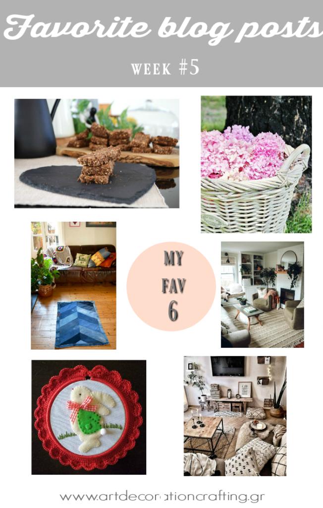 Τι διάβασα και μου άρεσε, my favorite blog posts week 5