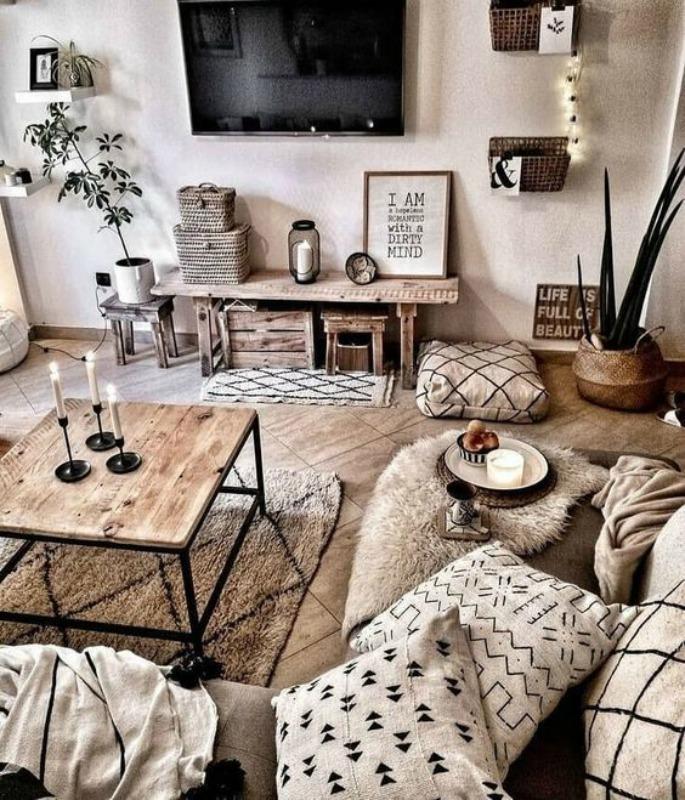 Τι διάβασα και μου άρεσε, rustic inspired living room ideas