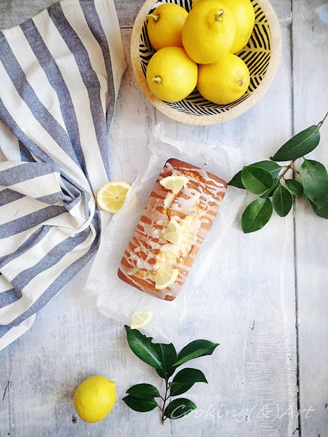 Tablespoon lemon cake