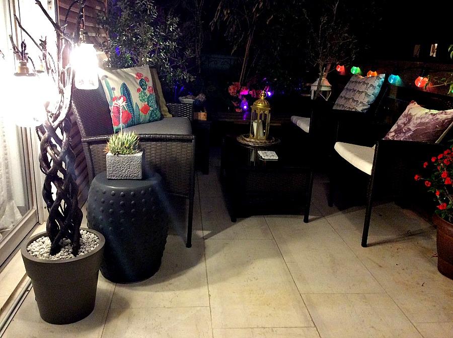 Φωτιστικό δαπέδου από κορμό - Sculptural floor lighting diy