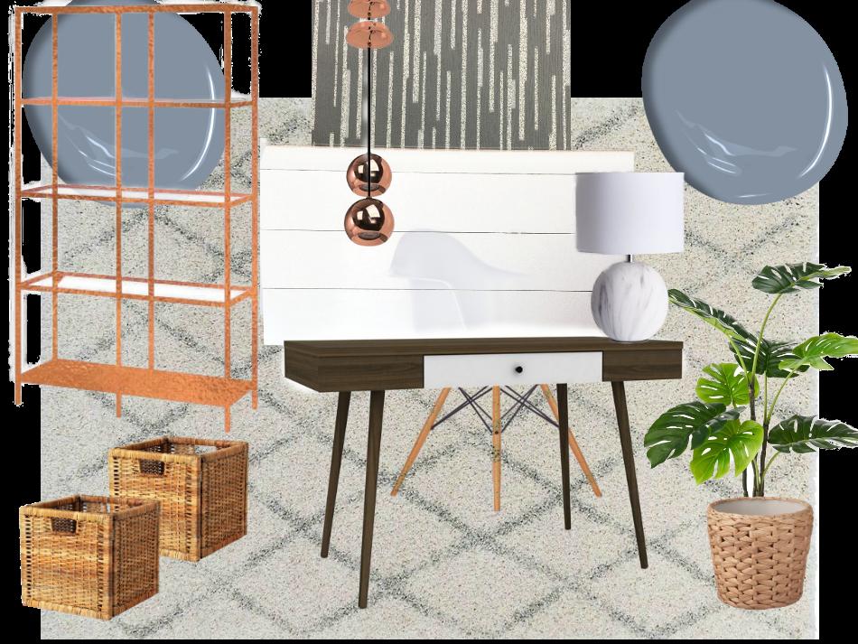 Contemporary style για το γραφείο στο σπίτι