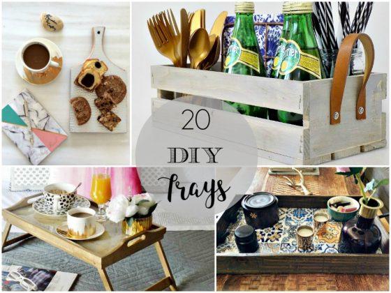 Διακοσμητικοί δίσκοι diy, 20 εύκολες ιδέες