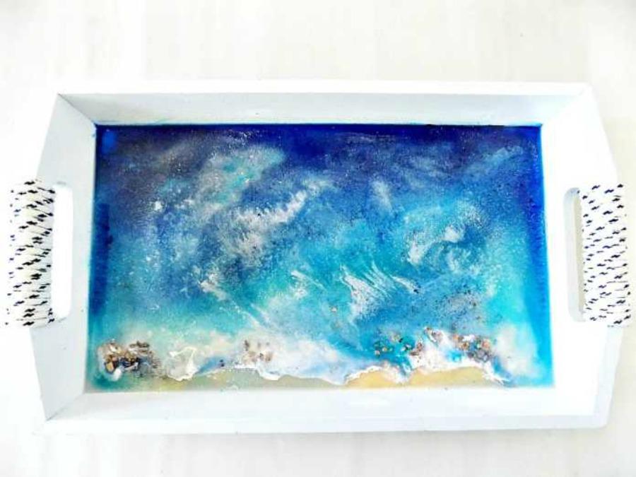 Διακοσμητικοί δίσκοι, δίσκος με άρωμα θάλασσας