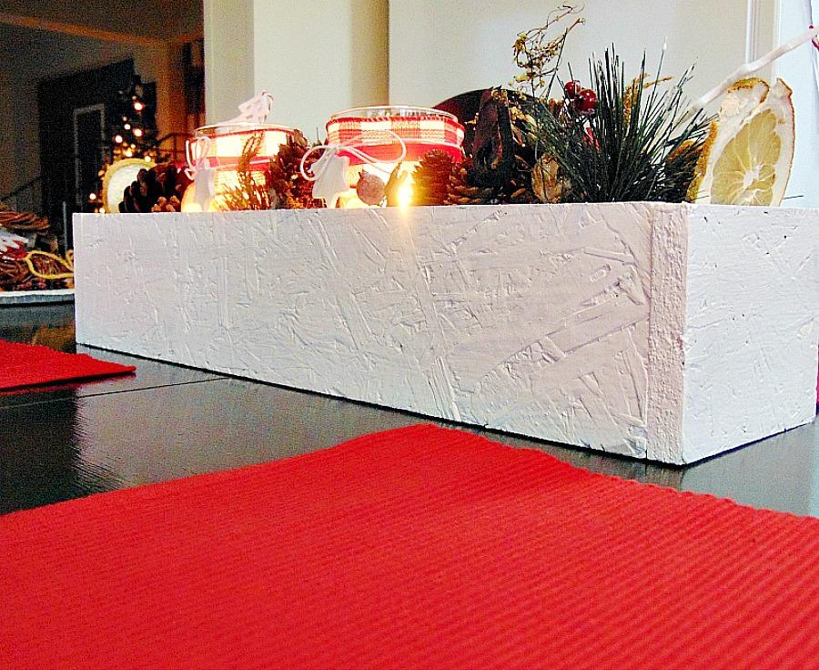 Ξύλινο διακοσμητικό κουτί για την κουζίνα