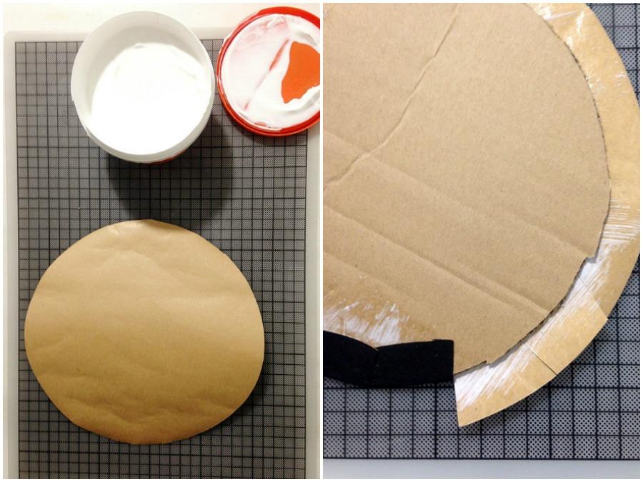 Πως να φτιάξεις ημίψηλα καπέλα χριστουγεννιάτικα στολίδια