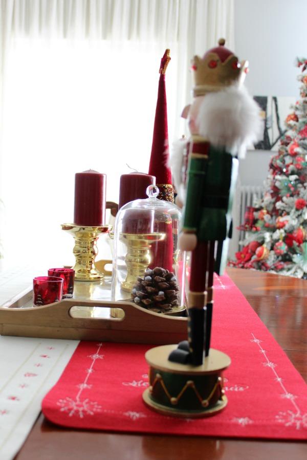 Christmas 2019 dining room | Κόκκινα Χριστούγεννα 2019, διακόσμηση  τραπεζαρίας