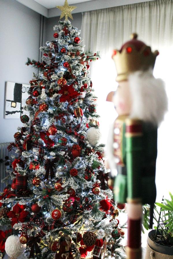 Christmas tree 2019, nutcracker
