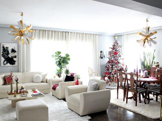 Κόκκινα Χριστούγεννα 2019 στο σπίτι μας