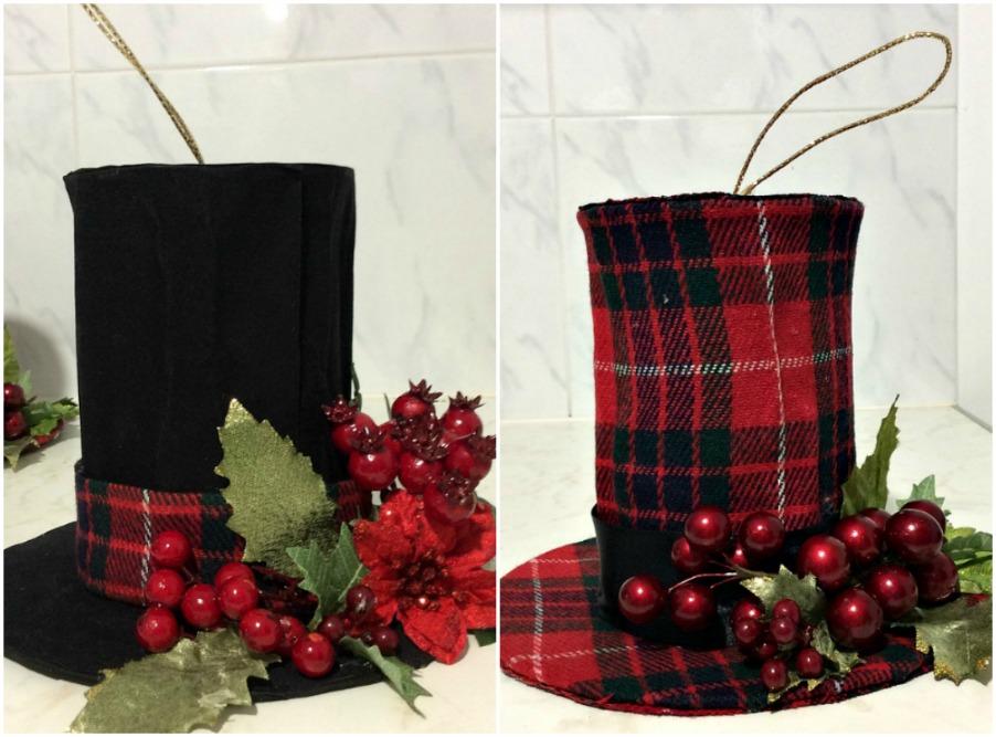 Διακοσμητικά χριστουγεννιάτικα ημίψηλα καπέλα