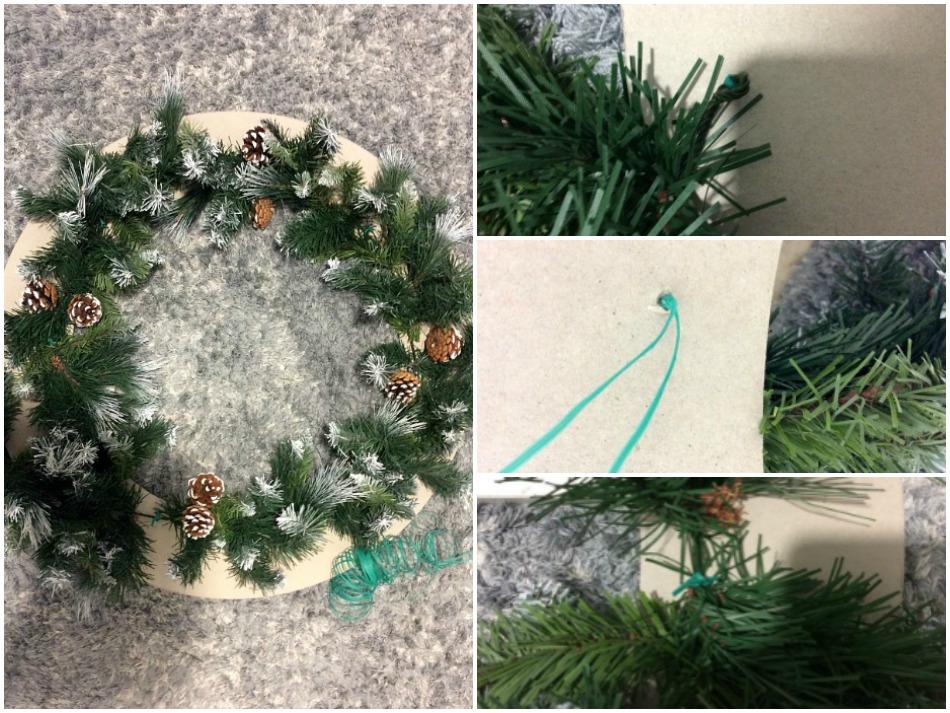 Πως να φτιάξεις ένα xxl στεφάνι | How to make a giant christmas wreath
