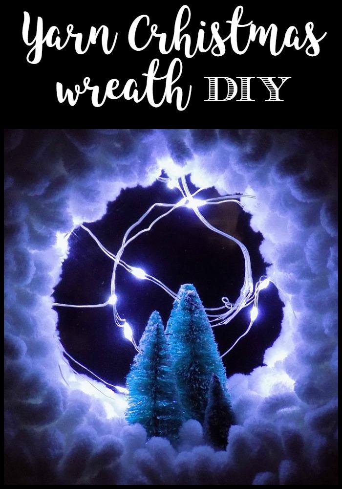 How to make a yarn wreath perfect for your Christmas decor | 'Ελα να δεις πως θα φτιάξεις το πιο εύκολο χριστουγεννιάτικο στεφάνι με δυό απλές κινήσεις! Ένα στεφάνι που θα σου κάνει συντροφιά όλο τον χειμώνα!