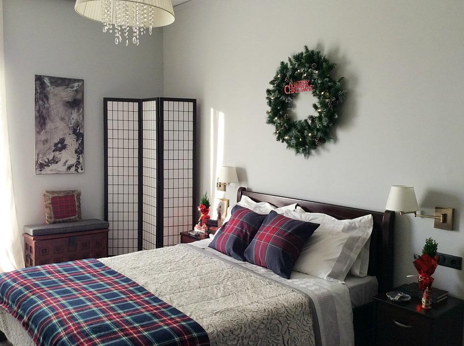 Master bedroom christmas tour 2019, xxl christmas wreath diy | xxl στεφάνι για τα Χριστούγεννα