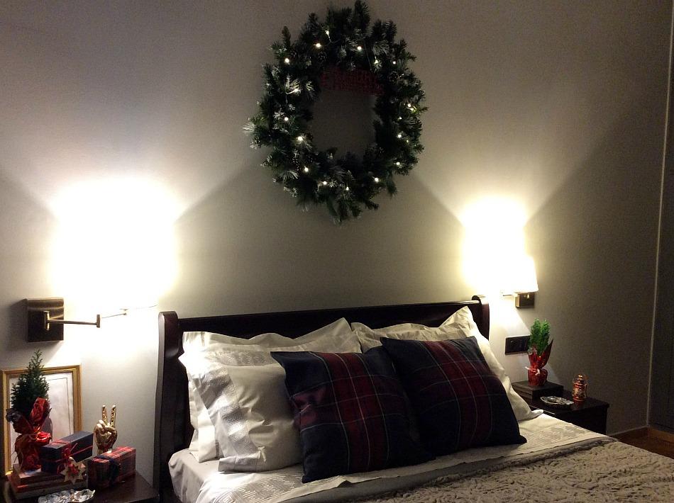 xxl στεφάνι για τα Χριστούγεννα diy