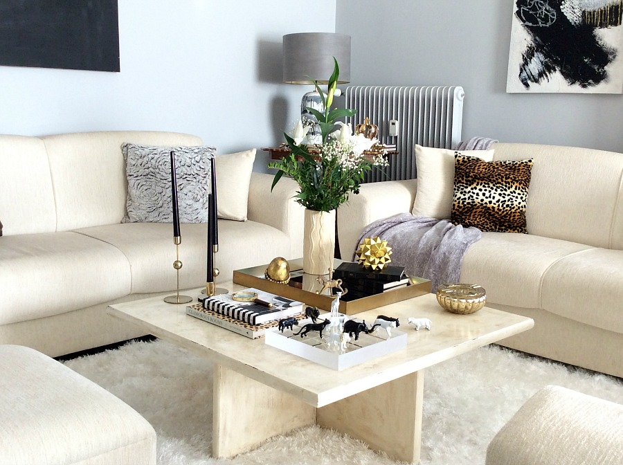 Εννέα tips για την μετάβαση από την γιορτινή διακόσμηση στη χειμωνιάτικη | Eclectic winter living room decor