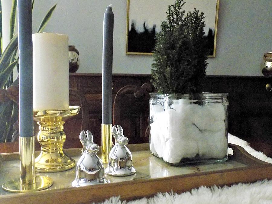 Εννέα tips για την μετάβαση από την γιορτινή διακόσμηση στη χειμωνιάτικη | Glam dining table decor