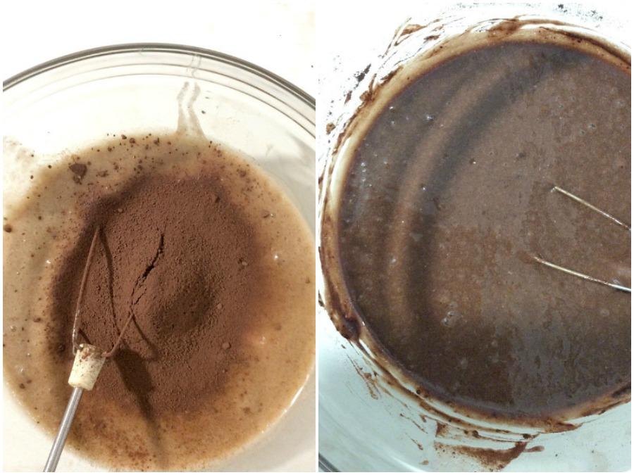 Μίγμα για σοκολατένιο banana bread | How to make chocolate banana bread