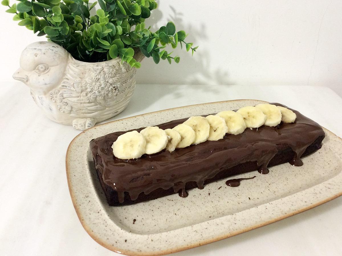 Το πιο σοκολατένιο banana bread