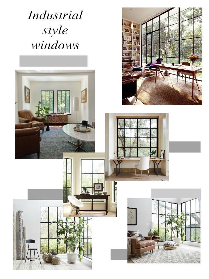 Industrial style windows