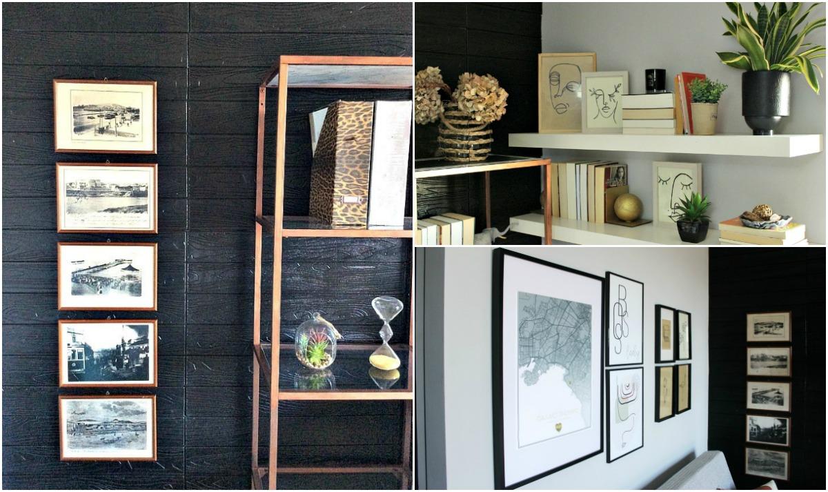 Gallery wall, 4 τρόποι για να δημιουργήσεις μία στο χώρο σου
