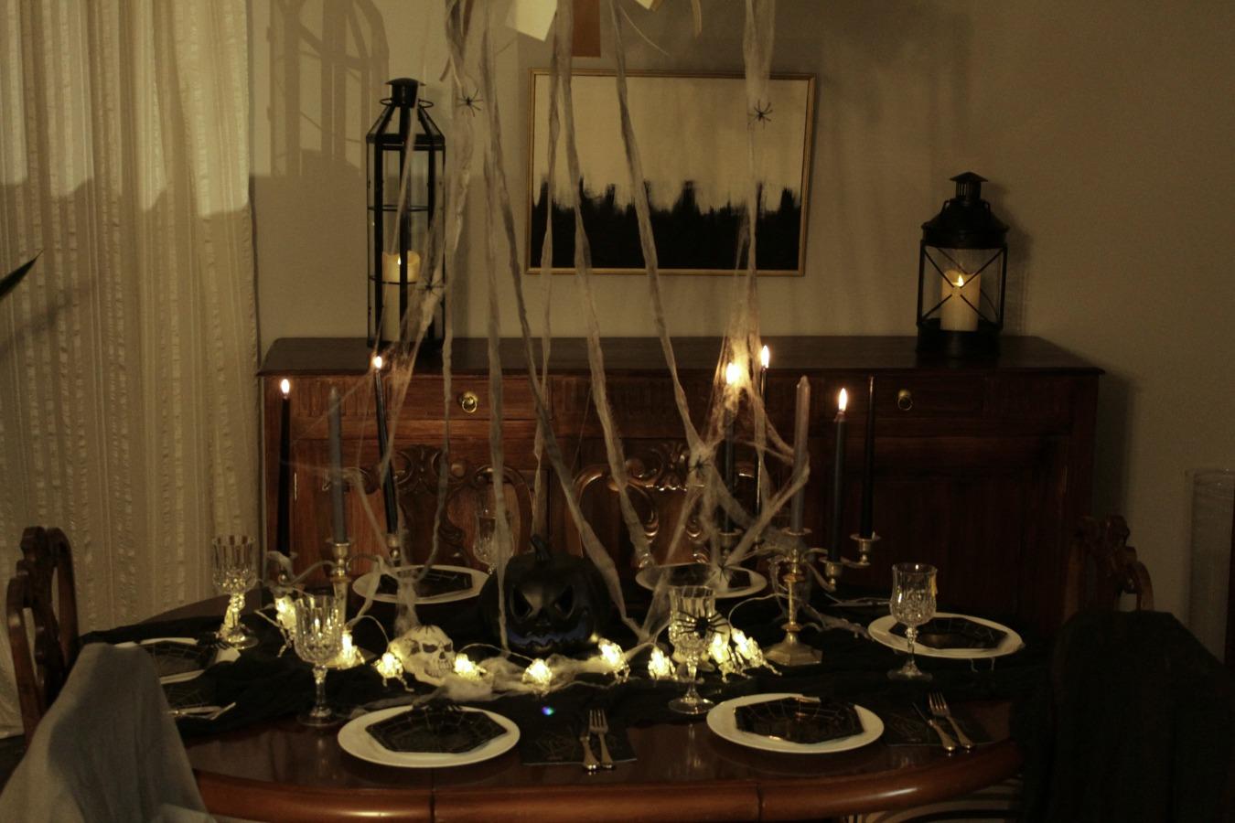 Διακόσμηση για halloween τραπέζι