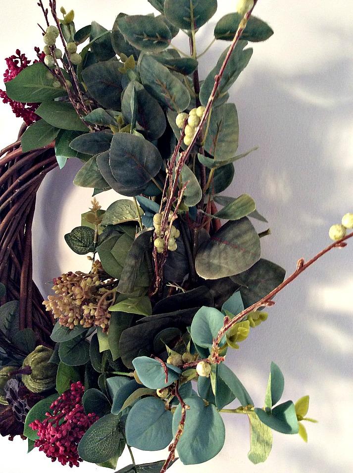 DIY fall roustic wreath