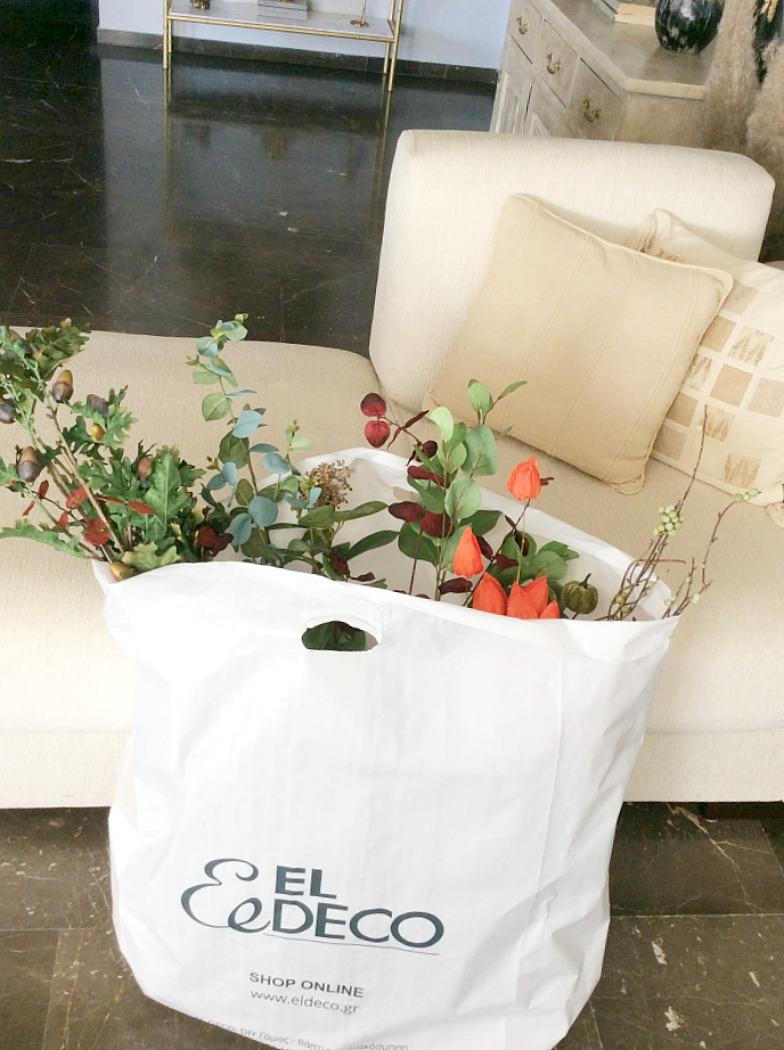ElDeco φθινοπωρινή διακόσμηση