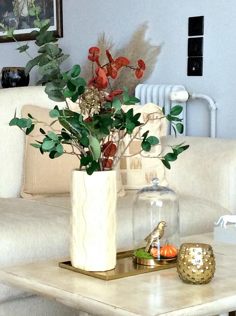 Φθινοπωρινό ντεκόρ σαλονιού