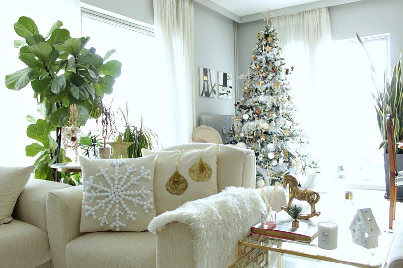 diy-glam-χριστουγεννιάτικα μαξιλάρια