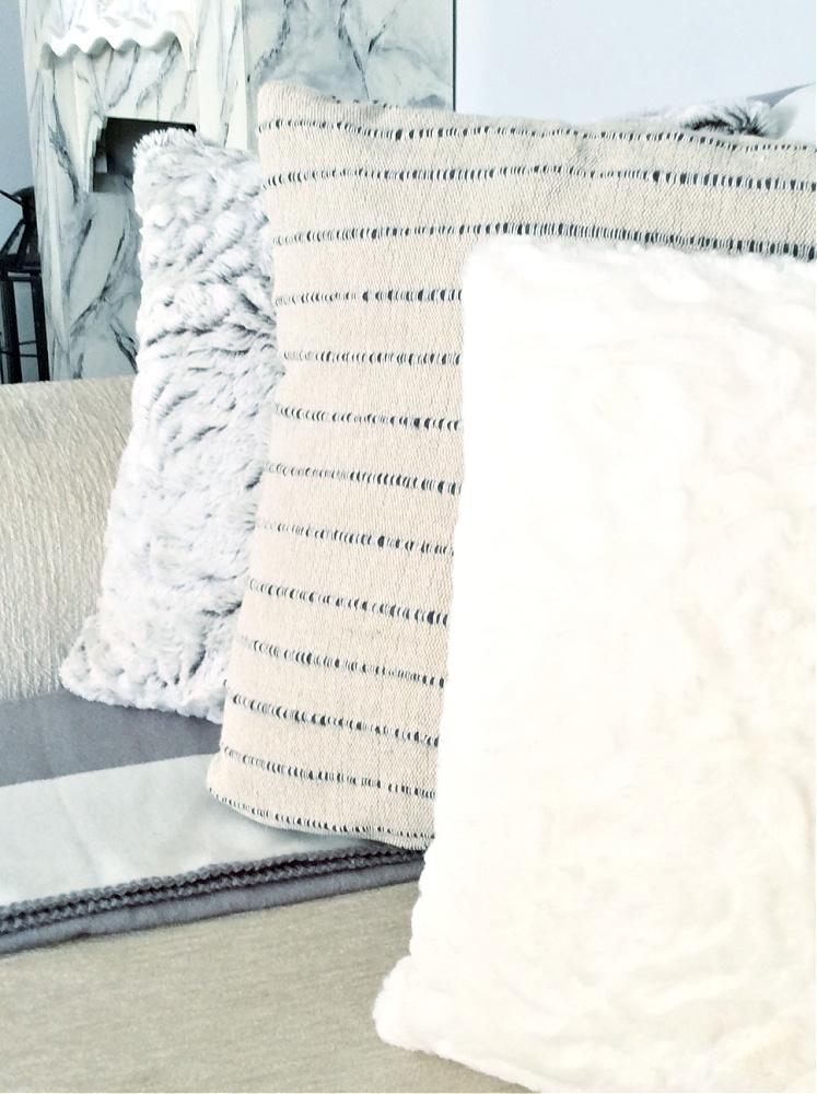 Γούνινα μαξιλάρια, πέντε tips για να τα διακοσμήσεις