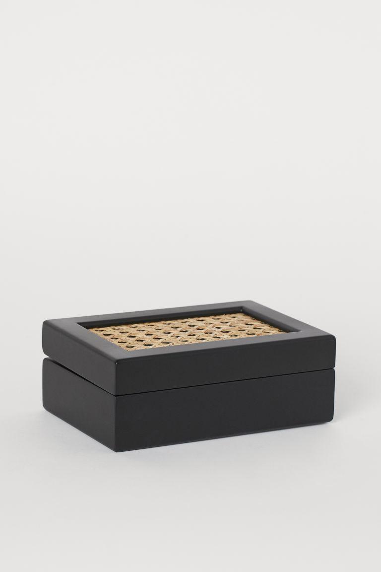 HM Home κουτί με ρατάν καπάκι