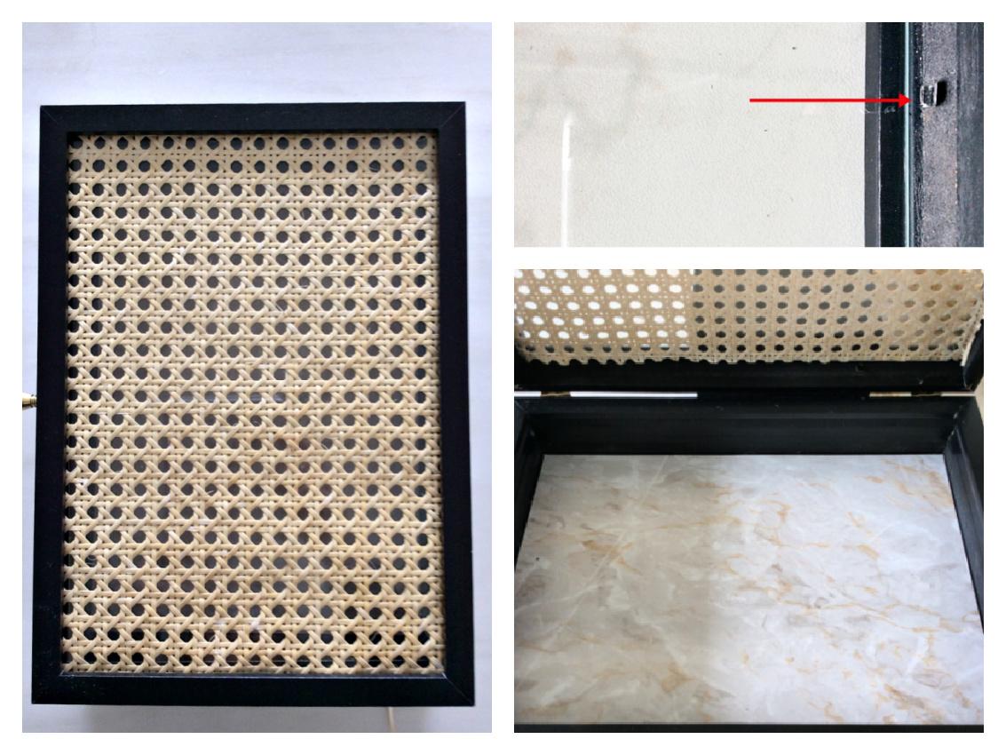 3 diy εύκολες αλλαγές διακοσμητικών, πως να φτιάξεις κουτί αποθήκευσης με ρατάν καπάκι