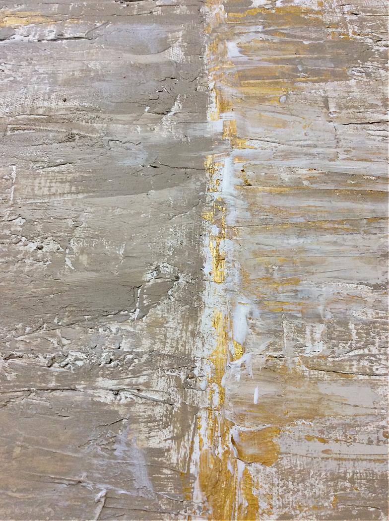 Αφηρημένη τέχνη με υφή diy, λεπτομέρεια με χρυσό