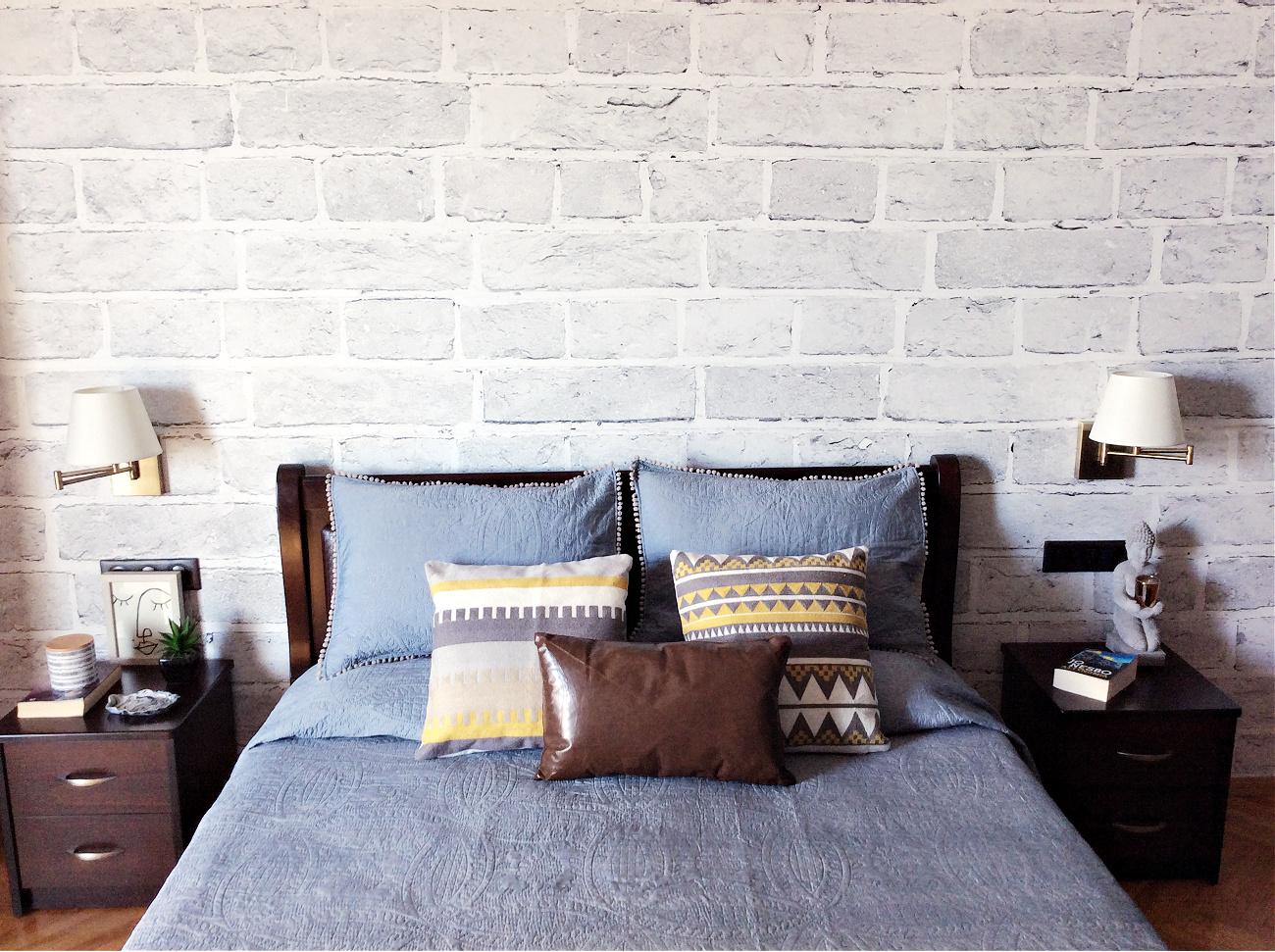 Διακόσμηση κρεβατοκάμαρας με ταπετσαρία - Πως να την τοποθετήσεις