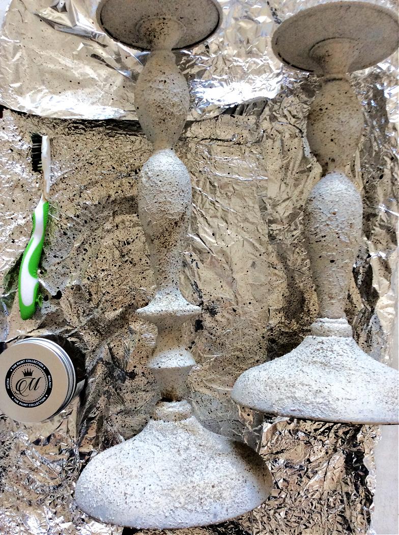 Δημιουργία εφέ πέτρας με vintage effect