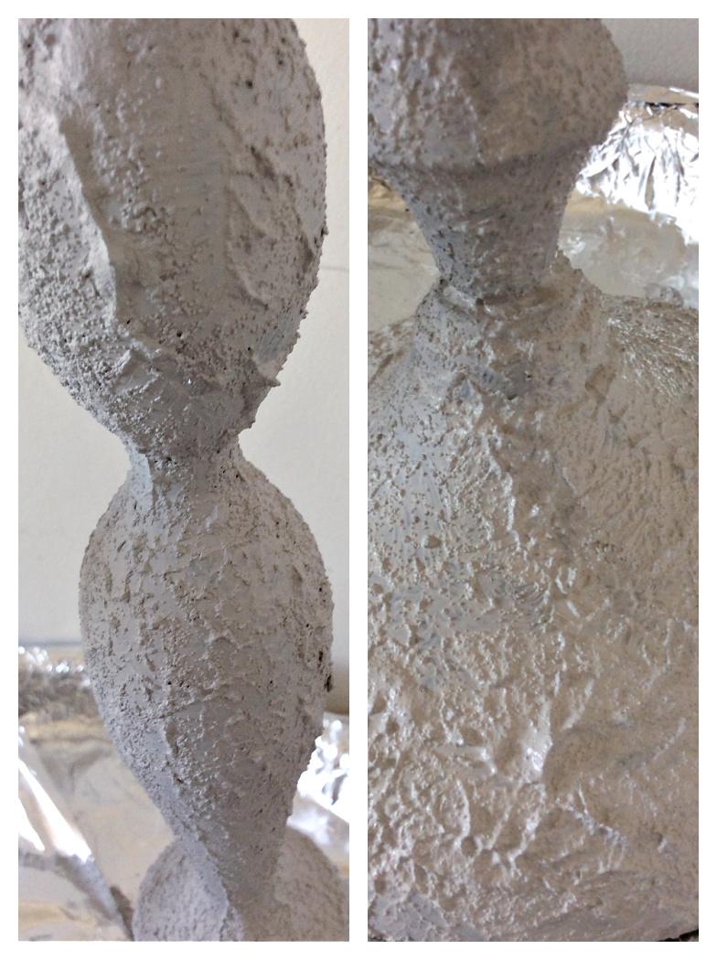 Δημιουργία εφέ πέτρας πάνω σε ανοξείδωτη επιφάνεια