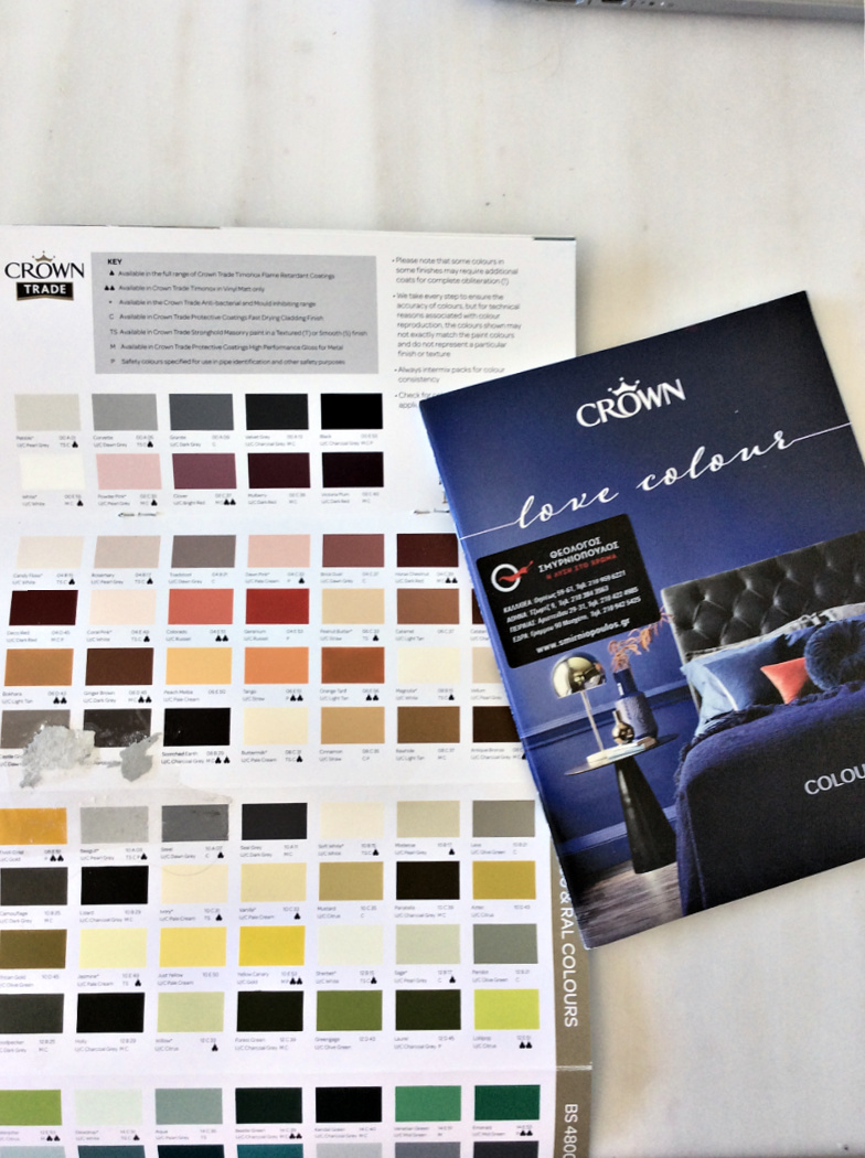 Crown paint colors for walls