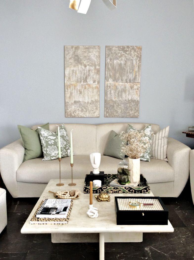 Ύψος πίνακα πάνω από καναπέ