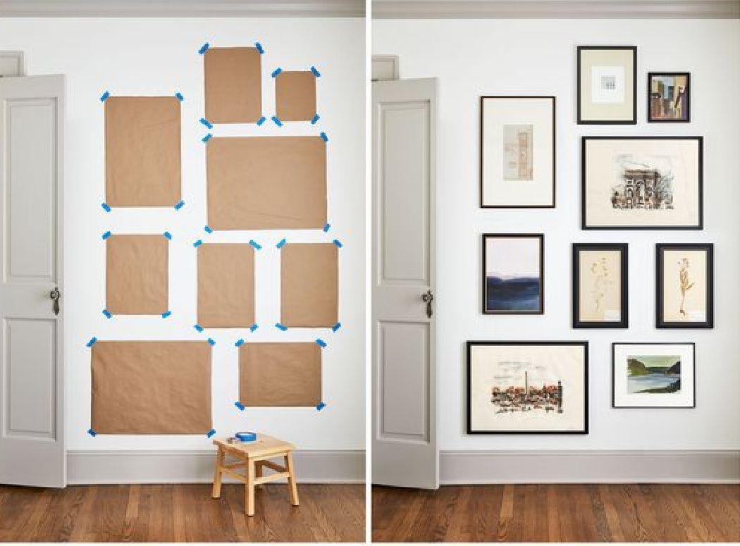 Πως να δημιουργήσεις σωστά μια gallery wall