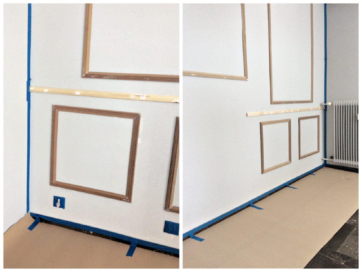 Προετοιμασία χώρου για βάψιμο τοίχου