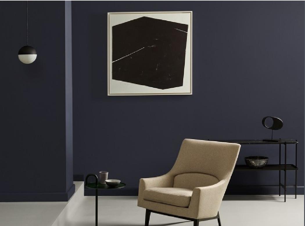 Χρώματα Crown σε συνεργασία με Elle Decoration, blue black