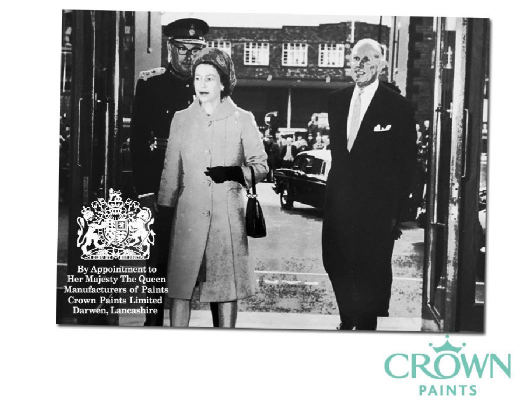 Χρώματα Crown: Τα χρώματα της βασιλικής οικογένειας της Αγγλίας