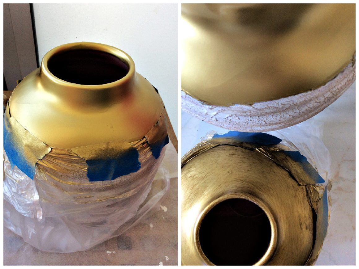 Πως να κάνεις το λαμπερό χρυσό να μοιάζει vintage